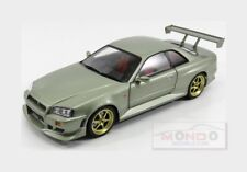 Nissan Skyline Gt-R (R34) 1999 Millenium Jade Met GREENLIGHT 1:18 GREEN19033