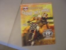 July 26,2008 Hagerstown Speedway Flat Track Motorcycle Racing Program,