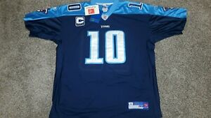 Tennessee Titans Vince Young #10 NFL Reebok Stitched Jersey Sz 54 *New*