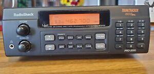 Radio Shack PRO-2050 TrunkTracker 800MHz  W/Manual,  Antenna and Power Supply