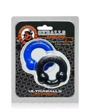 Oxballs Ultraballs Blue and Black 2-pack ring Set
