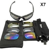 Photochromic Polarisiert Daisy X7 Heer Sonnenbrille 4 Linse Kit Militär Brille