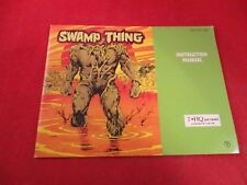 Swamp Thing Nintendo NES Instruction Manual Booklet ONLY #C1
