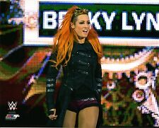"WWE foto Becky Lynch Il Wrestling Ufficiale 8x10"" PROMO NXT"