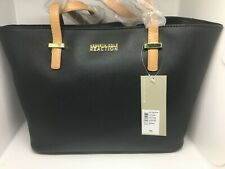 Kenneth Cole Reaction Saffiano Black Tote (Style# KN1660/08) **BRAND NEW**