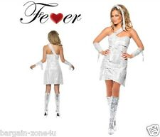 Smiffys Fever Mummy Bedazzle Women Girls Glittery Party Fancy Dress Custome
