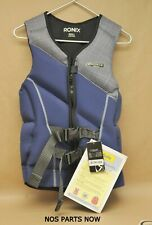 New Nwt Ronix Forester Capella 2.0 Cga Wakeboard Vest 2017 Blue Grey Plaid Small