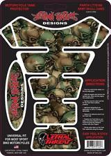 Lethal THREAT Moto Bicicleta Tanque Pad Protector Etiqueta Engomada Camuflaje LT70160