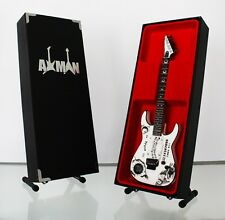 Kirk Hammett (Metallica): White Ouija - Miniature Guitar Replica (UK Seller)