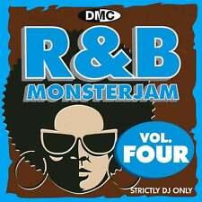 DMC R&B Monsterjam Vol 4 Grandmaster Style Continuous Megamix Mixed DJ CD R'n'B