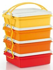Tupperware On The Go Square and Rectangular Container