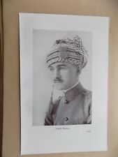Lawrence of Arabia Book Page, 2 Sides, Lowell Thomas & Desert War Council
