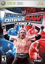 WWE SmackDown vs. Raw 2007  Xbox 360 Complete in Box, Cleaned and Tested