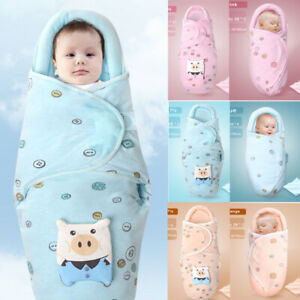 Baby Sleeping Bag Wrap Blanket Newborn Infant Boy Girl Swaddle
