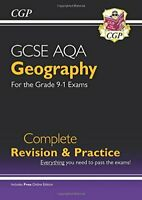 CGP Books - New Grade 9-1 GCSE Geography AQA Complete Revision