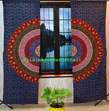 Indian Mandala Cotton Hippie Tapestry Door Cutain Decor Window Curtains Bohemian
