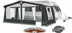 NEW 2021 Dorema Starcamp Tourer Full Caravan Awning Size 15 EasyGrip Steel Frame