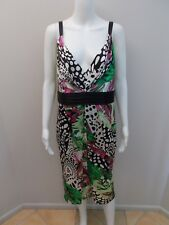 NEW RRP$595 ANTHEA CRAWFORD SILK PRINT OCCASIONS DRESS PLUS SIZE 18 (#1720)...