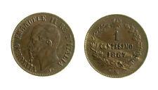 s288_52)  Vittorio Emanuele II (1861-1878)  1 Centesimo Valore 1867 M