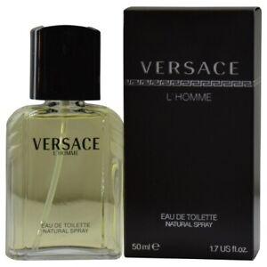 NEW IN BOX Versace L'homme eau de toilette Cologne for Men1.6 OZ