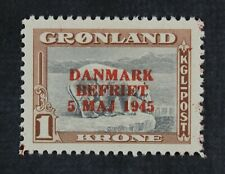 CKStamps: Greenland Stamps Collection Scott#25 Mint H OG
