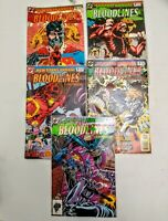 Bloodlines dc comics lot of 5 1993