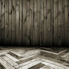 Black Plank Shadow Photography Backgrounds Backdrops 8x8FT Vinyl Baby