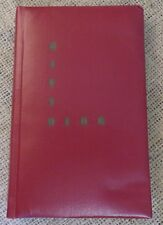 1950's GIFTOLOG Record Keeping Log Book For Gifts & Cards Leather Cover UNUSED