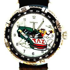 Nascar Taz, Rare Dial Warner Bros. Looney Tune, Diver Bezel, Unworn Watch! $149