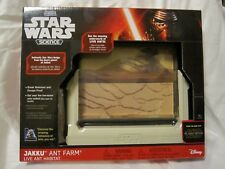 Ant Farm Habitat Star Wars Force Awakens Uncle Milton Jakku Science Kit New