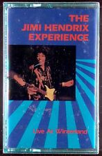 The Jimi Hendrix Experience-Live At Winterland LP CASSETTE RYKO 1987 SEALED OOP