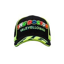 Vr46 Caps Official Vale yellow Black Snap Back cap - 263004
