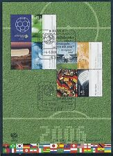 Postfrische Briefmarken aus der BRD (ab 2000) mit Fußball-Motiv