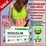 REDUSLIM FAST Weight Loss Fat Burning Slimming Complex Natural 10 Veggie Capsule