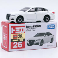 Takara Tomy Tomica No. 26 Toyota Crown White 1:66 1/66 Scale  Diecast Car Toys