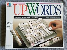 Vintage 1988 UPWORDS Milton Bradley 3-Dimensional Word GAME COMPLETE