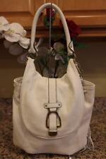 G.I.L.I Leather Convertible Backpack - Ivory/ Winter White (pu190