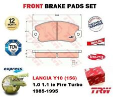 FOR LANCIA Y10 (156) 1.0 1.1 ie Fire Turbo 1985-1995 FRONT AXLE BRAKE PADS SET