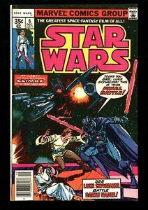 STAR WARS #6  FN+ (6.5)  Marvel Comics 1977 Jedi Darth Vader Skywalker (vol 1)