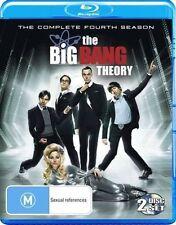 The Big Bang Theory : Season 4 (Blu-ray, 2011, 2-Disc Set)