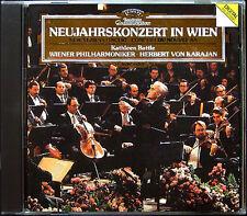 Neujahrskonzert aus Wien 1987 KARAJAN CD New Year Concert Vienna Kathleen Battle