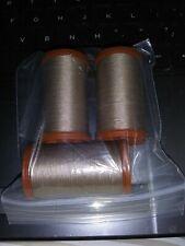 Lot of 3 Coats & Clark Extra Strong Heavy Duty Upholstery Thread London Tan