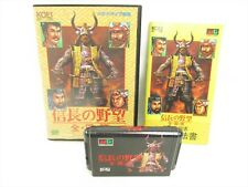 NOBUNAGA NO YABO ZENKOKU BAN Mega Drive Sega Japan KOEI Game md