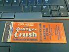 30s Minneapolis Schmidt's BEER Advertising Matchbook Emerald Club Orange Crush !