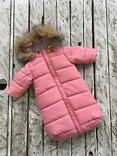 Newborn Snowsuit Baby Winter Clothes Infant Down Jacket Bunting bag Sleep bag