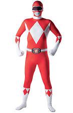 Déguisement seconde peau Power Rangers adulte - 65581 - L - 1,60m à 1,80m - Por