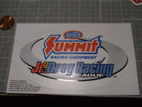 DRAG RACING GLOSSY Sticker / Decal  Automotive  ORIGINAL NEW OLD STOCK