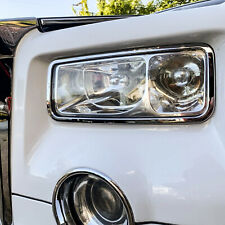 Chrome Head Light Trim Bezel Surrond Rim Cover For Rolls-Royce Phantom VII