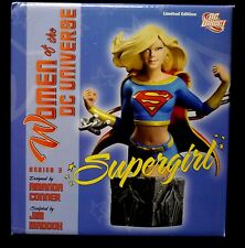 Dc Women of the Dc Universe Supergirl Bust Statue Series 3 New Superman .
