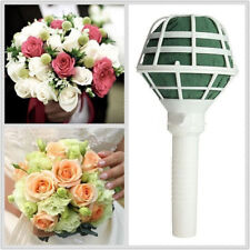 1x Floral Holder Wedding Bouquet Bridal Posy Oasis Wet Foam Flowers Decoration